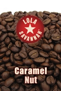 Caramel Nut flavored coffee, whole bean or ground, roasted fresh in Houston, Texas.