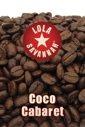 Coco Cabaret flavored coffee, whole bean or ground, roasted fresh in Houston, Texas.