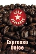 Espresso Dolce blend coffee, whole bean or ground, roasted fresh in Houston, Texas.