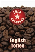 English Toffee flavored coffee, whole bean or ground, roasted fresh in Houston, Texas.