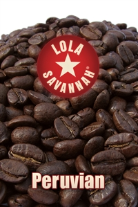 Peruvian coffee, whole bean or ground, roasted fresh in Houston, Texas.