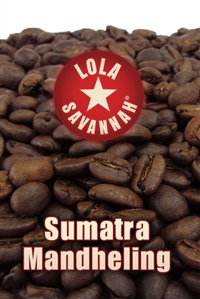 Sumatra Mandheling coffee, whole bean or ground, roasted fresh in Houston, Texas.