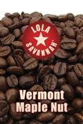 Vermont Maple Nut flavored coffee, whole bean or ground, roasted fresh in Houston, Texas.