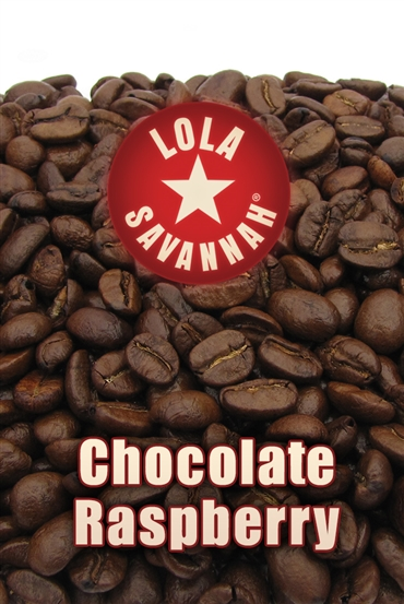 Chocolate Raspberry flavored coffee, whole bean or ground, roasted fresh in Houston, Texas.