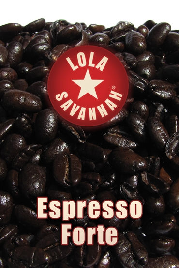 Espresso Forte blend coffee, whole bean or ground, roasted fresh in Houston, Texas.