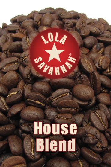 House Blend coffee, whole bean or ground, roasted fresh in Houston, Texas.