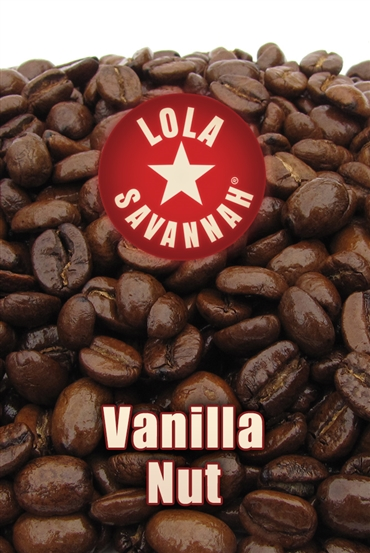 Vanilla Nut flavored coffee, whole bean or ground, roasted fresh in Houston, Texas.